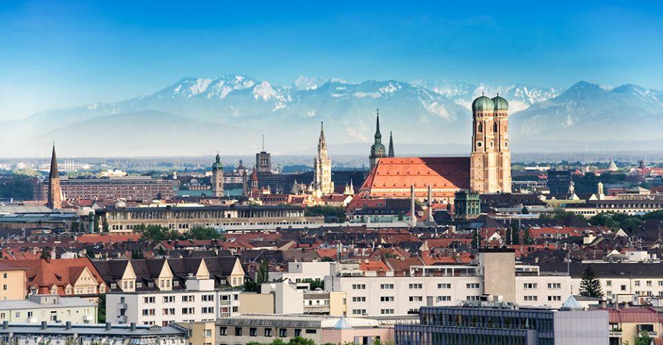 München mit Bergkulisse - Zinshaus Oberbayern