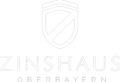 Zinshaus Oberbayern Makler Anlageobjekte Logo weiß