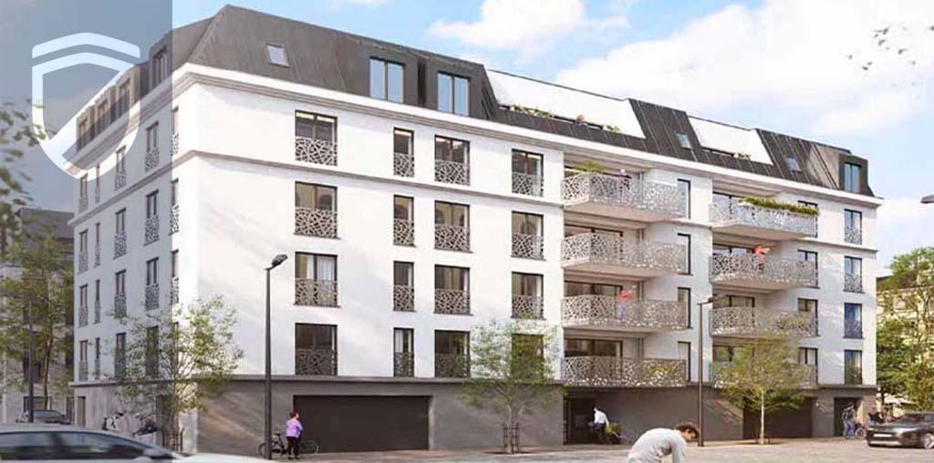 Ein Mehrfamilienhaus in der Planung
